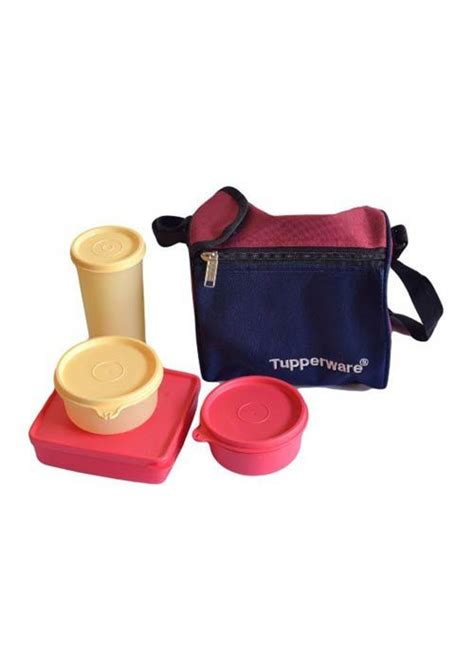 Cosmo Bag Tupperware buy cello cosmos lunch pack with 5 containers on snapdeal