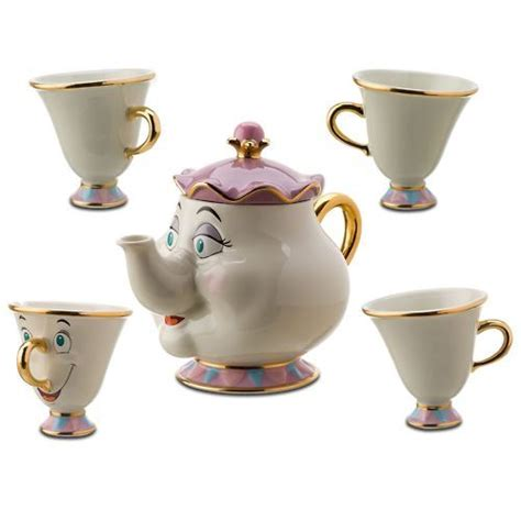 beauty and the beast pot beauty and the beast cute disney kawaii tea image