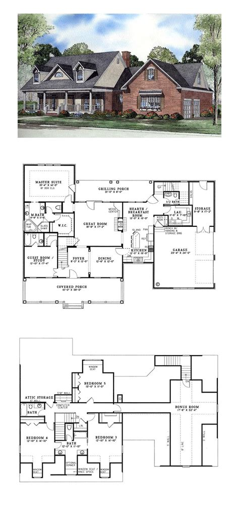 Three Room Home Design News | simple 5 bedroom 3 bath house plans popular home design