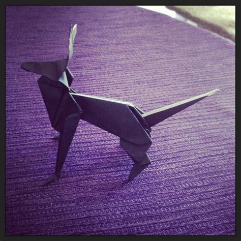 German Origami - origami and german shepherds on
