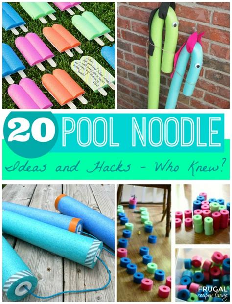 hacking ideas 20 pool noodle ideas and hacks who knew summer pool
