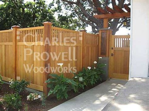 privacy fence front yard the world s catalog of ideas