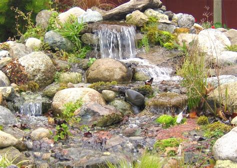 Garden Decoration Waterfall by Garden Decor Magnificent Pondless Water And