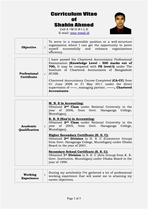 cv templates design 3 resume templates