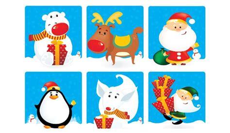 christmas character vectors vectorish