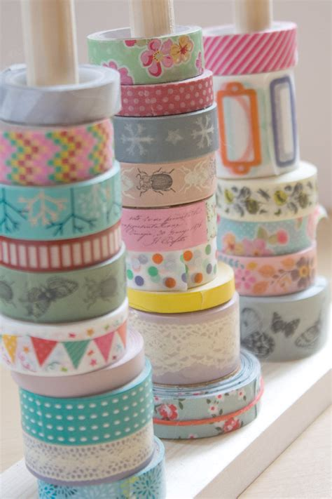 washi tape diy washi tape storage diy make and fable