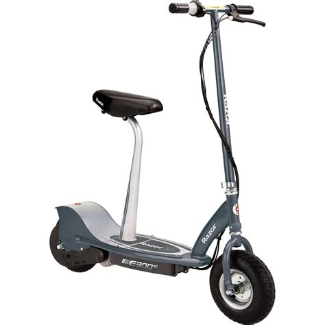electric scooter with seat razor razor e300s seated electric scooter ebay
