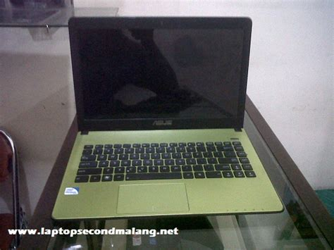 Laptop Asus Dual Second notebook asus x401a slim dual sandybridge jual beli
