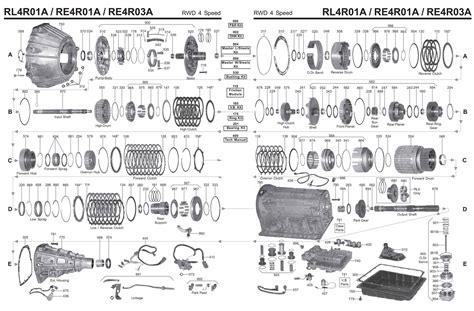 transmission repair manuals rera rlra jr instructions  rebuild transmission