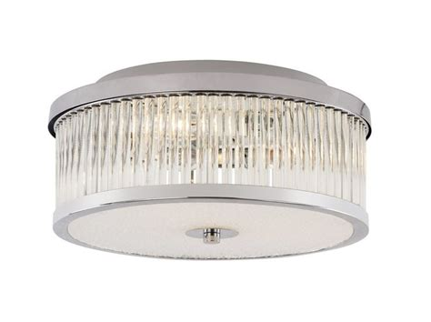 round bathroom light fixtures 3 light round flush mount ceiling fixture with clear