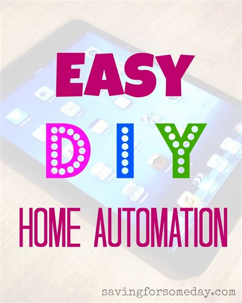 easy diy home automation
