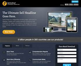 best free landing page templates 20 best signup landing page templates free premium