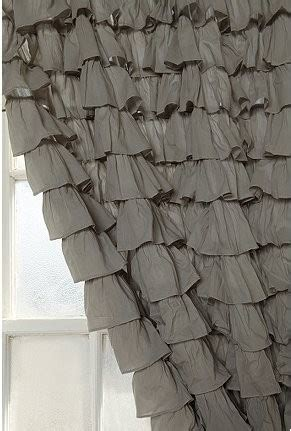 urban outfitters waterfall curtain waterfall ruffle curtain urban outfitters 78