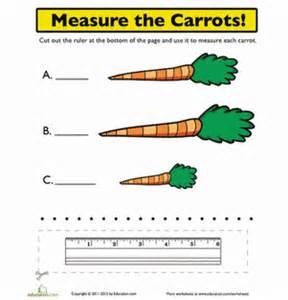 kindergarten measurement worksheets amp free printables