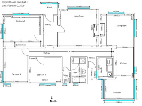 House Plan Drawings | 4 bedroom house plans sle house plans drawings house