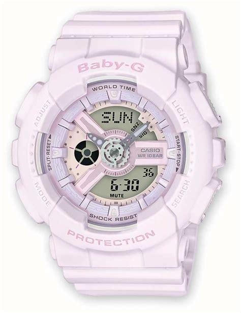 baby g ba 110 rubber casio baby g light pink rubber ba 110 4a2er