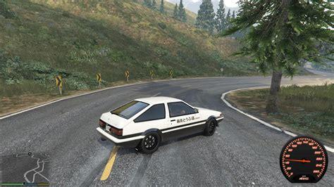 mod gta 5 drift ae86 low power drift handling gta5 mods com