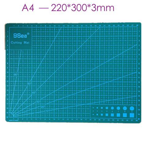 Diy Self Healing Cutting Mat by 30 22cm Grid Lines Self Healing Cutting Mat Craft Card