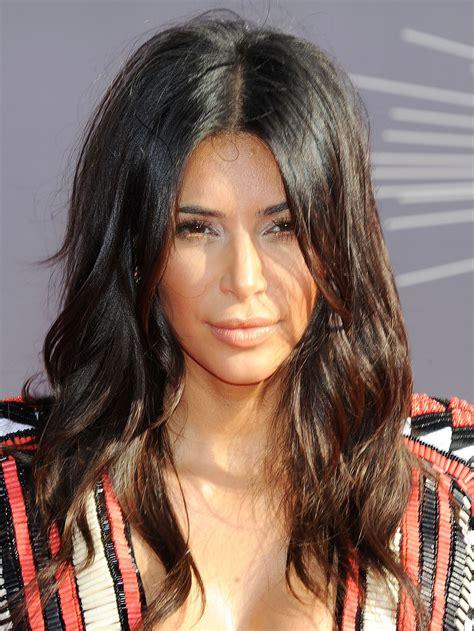 kim kardashians new hairstyle 2015 kim kardashian 2014 mtv video music awards in inglewood