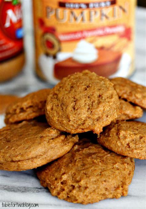 cookies pumpkin pumpkin peanut butter cookies table for two