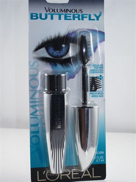 Maskara Loreal Butterfly l oreal voluminous butterfly mascara review musings of a muse