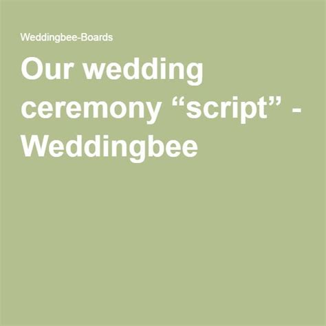 Wedding Vows Script by Wedding Ceremony Scripts For Officiants Mini Bridal