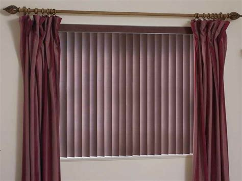 wood blinds with curtains door windows natural shades of the wood vertical blind