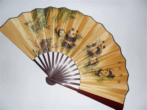 how to make a silk fan christmas gift free shippinga folding fan reflection of