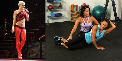 stacy keibler ab bikini workout video popsugar fitness