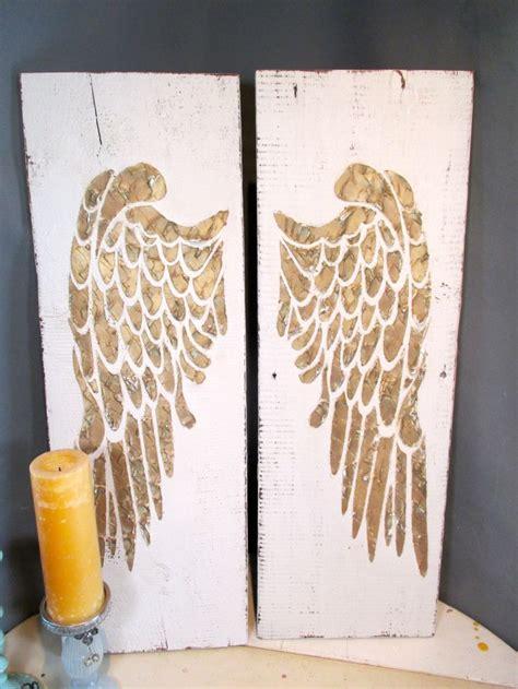 wall decor angel wings 1000 ideas about wooden angel wings on pinterest angel