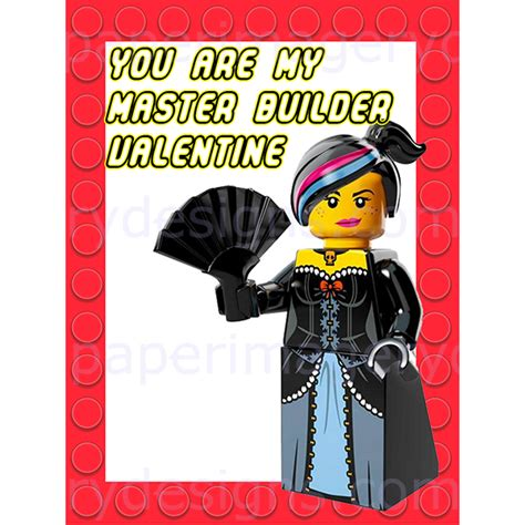 Marie Antoinette Home Decor by Lego Movie Valentines For 5 00 Valentines Day Cards