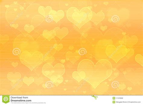 Yellow Hearts Background Wallpaper Stock Photo - Image ... Yellow Hearts Wallpaper