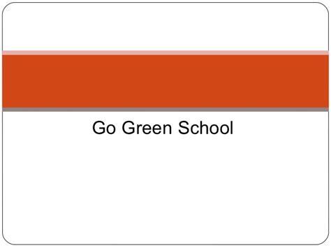 Alliz Go To School Green contoh green school smkn 2