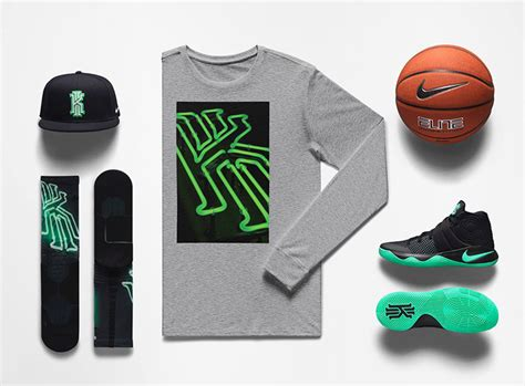 Tshirt Kyrie Nike Niron Cloth nike kyrie 2 green glow kyrie oke clothing sneakerfits