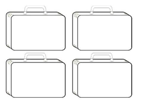 blank suitcase template suitcase template by jessrtw teachers pay teachers