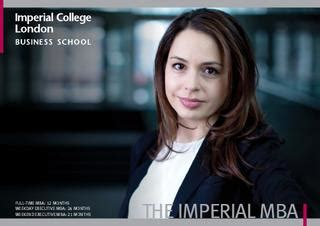 Imperial College Mba Acceptance Rate by Issuu Imperial Mba Brochure By Imperial College Business