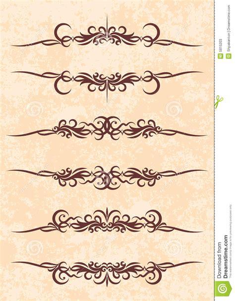 cornici eleganti cornici di testo eleganti fotografie stock immagine