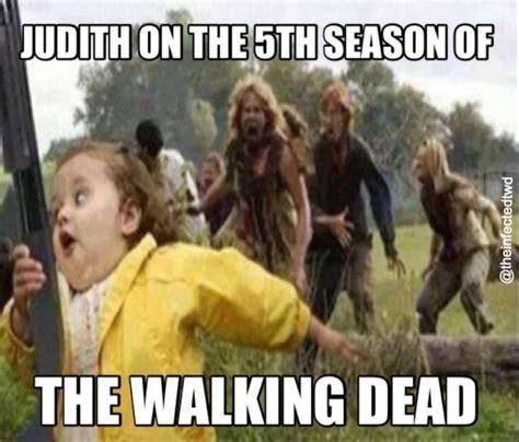 Walking Dead Memes Season 4 - judith season 5 the walking dead pinterest