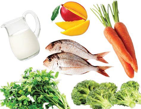 alimentos con vit a alimentos para la piel seca