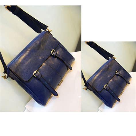 Grysons New Shoulder Bag Version Of The Beautiful Handbag by New Korean Version Belt Decoration Pu Leather Messenger