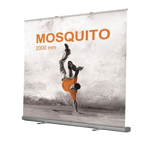 rollup mosquito 2x2 impression et personnalisation rollup - 2m X 2m Bettdecke