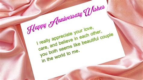 Wedding Anniversary Wishes Sms To by Happy Marriage Anniversary Sms To Wishes4lover