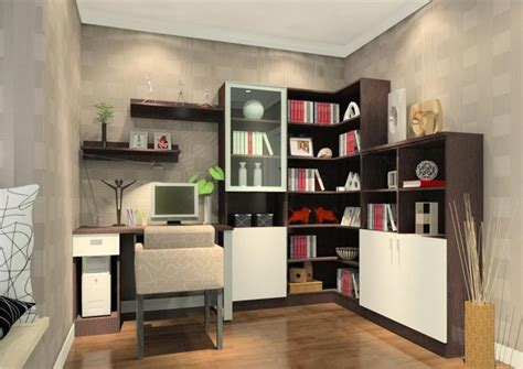 interior design home study interior design study room pastoral style