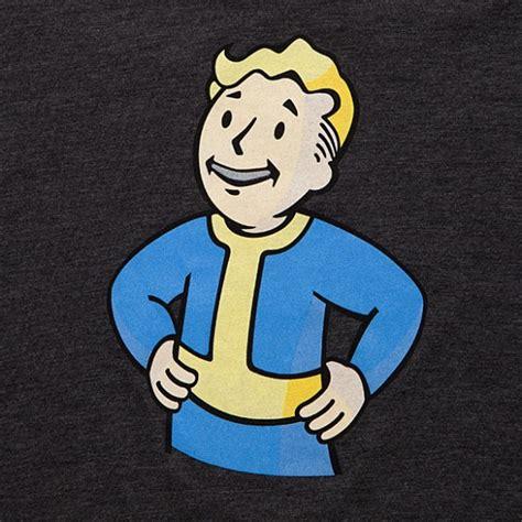 fallout 4 boys dropshipping cotton polyester pillowcase vault boy t shirt