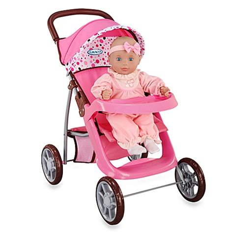 bed bath and beyond strollers graco 174 mirage doll stroller by tollytots 174 bed bath beyond
