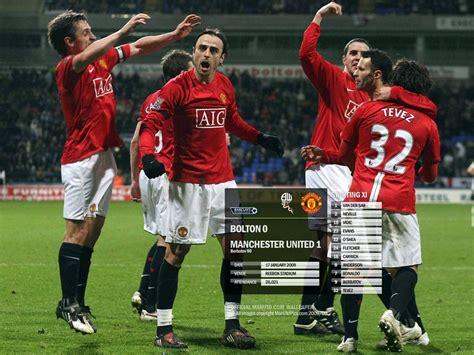 Manchester United 37 2008 09 manchester united matches manchester united