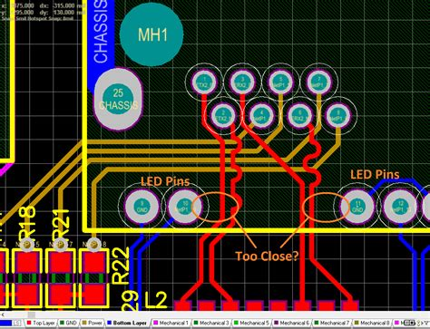 pcb layout guidelines for ethernet ethernet led diffpair clearance electrical engineering