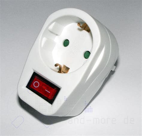 Steckdosen Schalter Mit Beleuchtung Und Kindersicherung