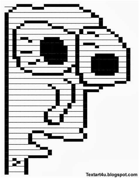 Text Art Memes - milk face meme copy paste text art cool ascii text art 4 u