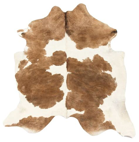 Hair On Hide Rug Light Brown White Hair On Hide Rug Kathy Kuo Home